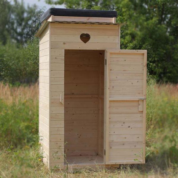 Строим на даче туалет своими руками